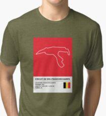 Circuit de Spa-Francorchamps - v2 Tri-blend T-Shirt