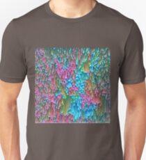 Abstract hidden cat Slim Fit T-Shirt