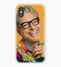 Jeff Goldblum happy iPhone Case