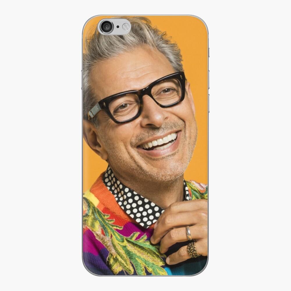Jeff Goldblum ist glücklich iPhone-Hüllen & Cover