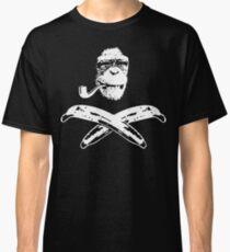 Monkey Roger pipe Classic T-Shirt