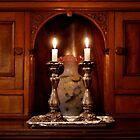 Shabbat Candles by Jen Savage