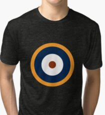 Royal Air Force - Historical Roundel Type A.2 1940 - 1942 Tri-blend T-Shirt