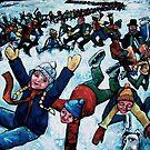 """""""Human Dominoes"""" by Chad Elliott by Wildermans"""