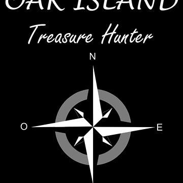 Oak Island T-Shirt Treasure Hunter Nova Scotia Mystery by TopTeeShop