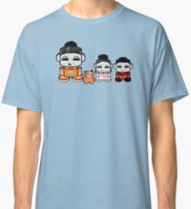 Yum Family: Nom, Jo, Coop & Free O'BABYBOT Toy Robot 2.0 Classic T-Shirt