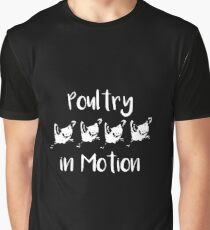 poultry Graphic T-Shirt