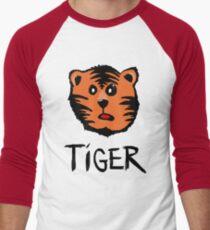 Cute tiger Men's Baseball ¾ T-Shirt