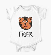 Cute tiger One Piece - Short Sleeve