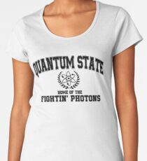 Quantum State, Home of the Fightin' Photons Women's Premium T-Shirt