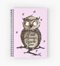 O'wl Always Love You!- FOR HER Spiral Notebook
