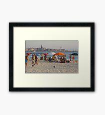 Italian Beach  Framed Print