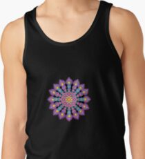 Purple Dot Mandala - Art&Deco By Natasha Tank Top
