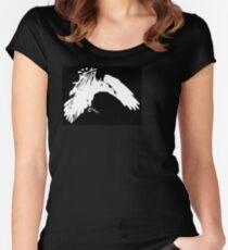 Corvidae Logo Women's Fitted Scoop T-Shirt