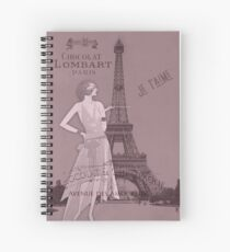 A Night to Remember Valentine Spiral Notebook