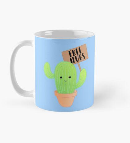 Cactus - Free Hugs - Cacti Puns - Plant Puns - Birthday - Valentines - Cute Puns Mug
