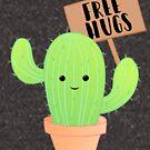 Cactus - Free Hugs - Cacti Puns - Plant Puns - Birthday - Valentines - Cute Puns by JustTheBeginning-x (Tori)
