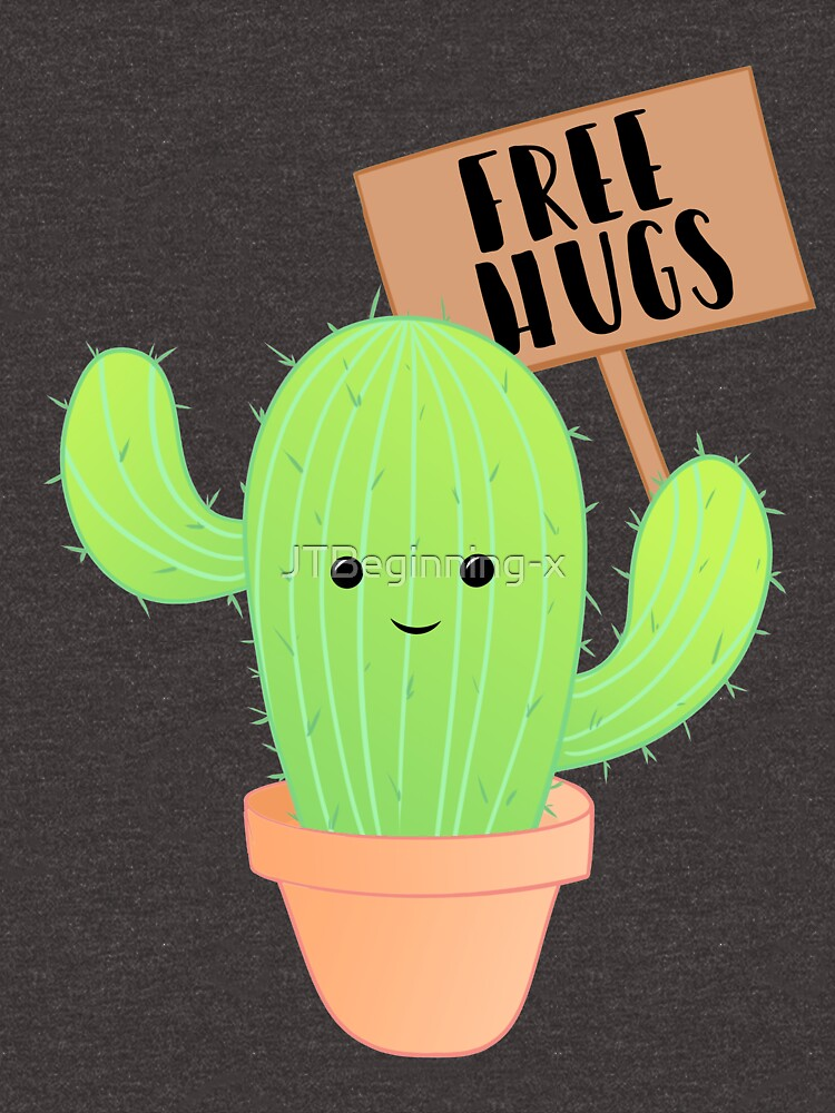Cactus - Free Hugs - Cacti Puns - Plant Puns - Birthday - Valentines - Cute Puns by JTBeginning-x