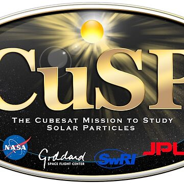 CubeSat for Solar Particles (CuSP) Logo by Spacestuffplus