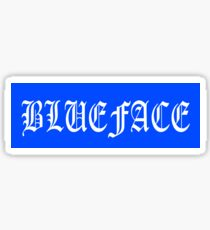 Blueface Blue Box Logo Sticker