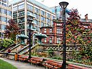 Sheffield Peace Gardens by Dorothy Berry-Lound