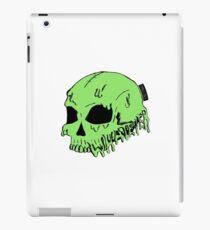Dripping With Sarcasm - Green Skull iPad Case/Skin