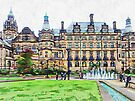 Sheffield Town Hall 5 by Dorothy Berry-Lound