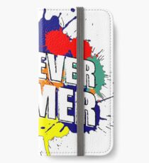 FOREVER GAMER iPhone Wallet/Case/Skin