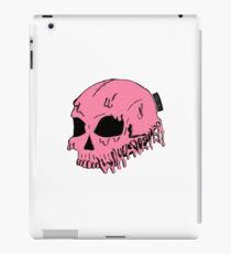 Dripping With Sarcasm - Pink Skull iPad Case/Skin