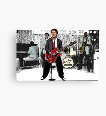 Marty MacFly and band Canvas Print