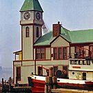 FDNY Pier A - 1973 by John Schneider
