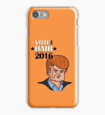 VOTE THE HAIR iPhone Case/Skin