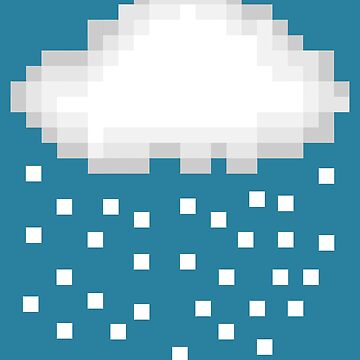 Pixel Snow by Pferdefreundin