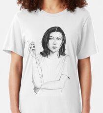 Joan Didion Slim Fit T-Shirt