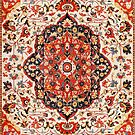 Sarouk Farahan Antique Persian Rug by Vicky Brago-Mitchell