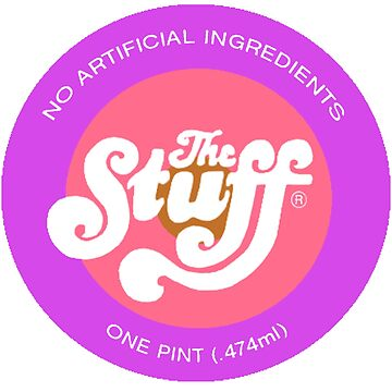 "The Stuff - logo from ""The Stuff"" by inuniverse"