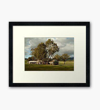 Wartook Valley,Grampians Framed Print
