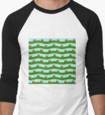 Double decker bus Men's Baseball ¾ T-Shirt