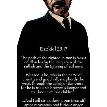 Samuel Jackson - Ezekiel Speech by Purakushi