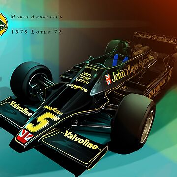 Mario Andretti by rubiohiphop