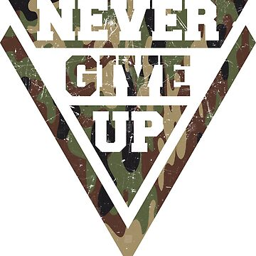 Never give up by Melcu