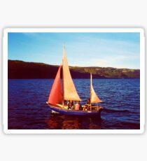 Red Sails In Broad Daylight ~ Loch Ness Sticker