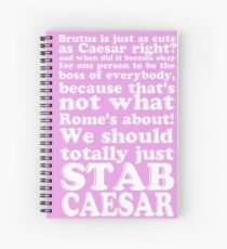 Brutus is just as cute as Caesar, right? Spiral Notebook