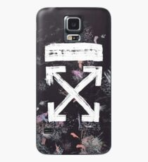 Off White Galaxy Brushed Case Case/Skin for Samsung Galaxy