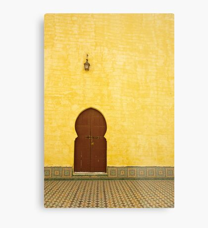 The Mausoleum of Moulay Ismail Metal Print