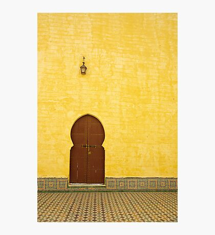 The Mausoleum of Moulay Ismail Photographic Print