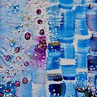 Blue Bricks by FrancesArt