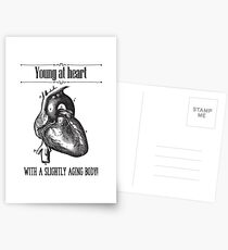 Young At Heart Postcards