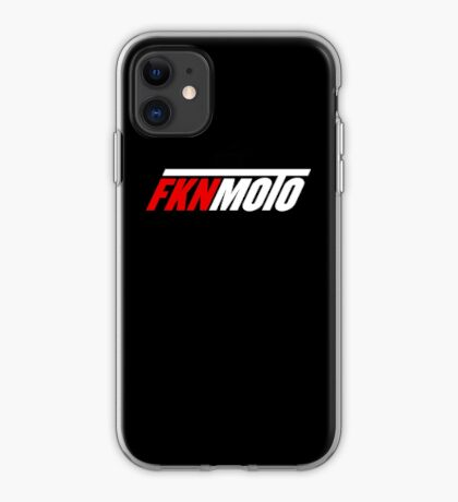 fknmoto iPhone Case