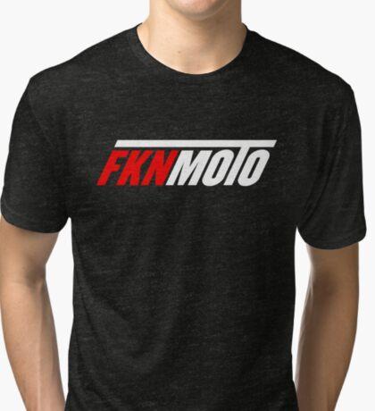 fknmoto Tri-blend T-Shirt